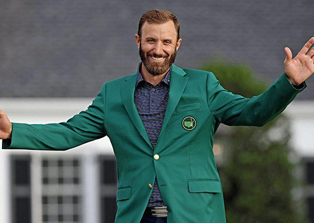 Yeşil Ceket Dustin Johnson'ın
